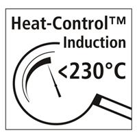 Heat-Control™-Induktionsboden schützt vor Überhitzung auf modernen Induktionsherden