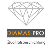 Auch oberflächlich betrachtet perfekt: unsere DIAMAS-Pro-Qualitätsbeschichtung ist besonders kratz- und abriebfest.