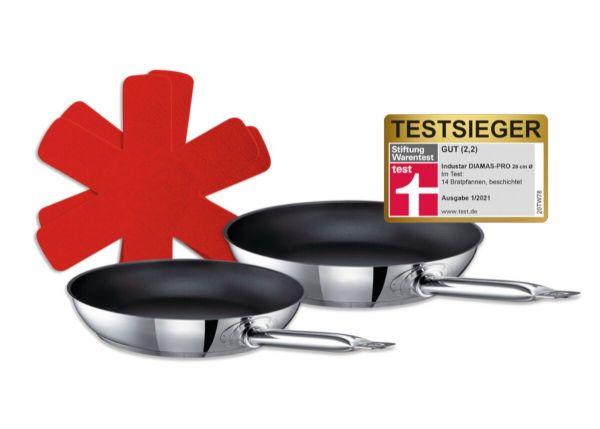 Testsieger-Set Industar (GastroSUS, DIAMAS-PRO beschichtet), 3-tlg