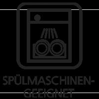 spülmaschinengeeignet (Topf)